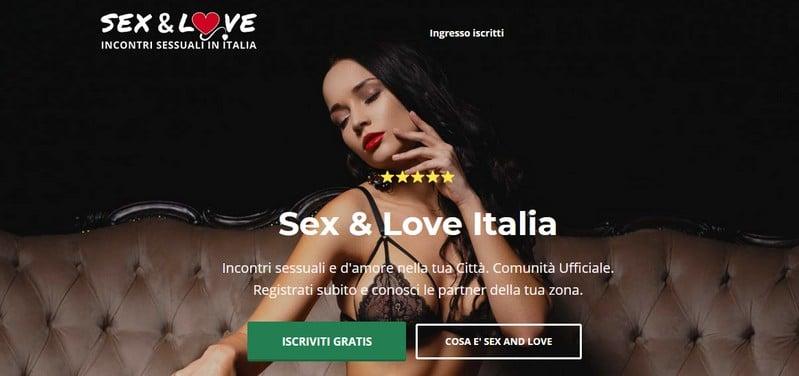 Sex And Love sito di incontri